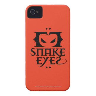 Ojos de serpiente Case-Mate iPhone 4 coberturas