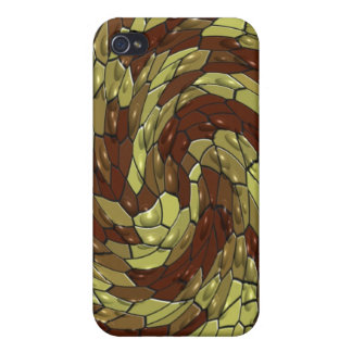 Ojos de serpiente iPhone 4 carcasa