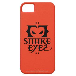 Ojos de serpiente iPhone 5 funda