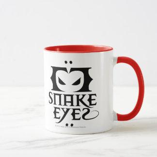 Ojos de serpiente taza