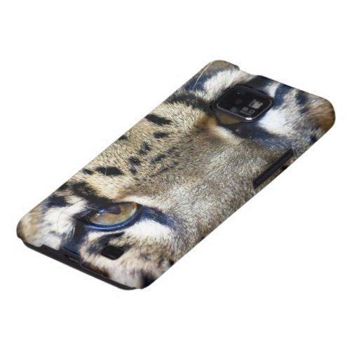 Ojos de un leopardo nublado galaxy SII carcasas