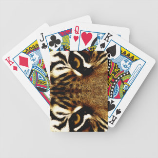 Ojos de un tigre baraja de cartas