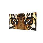 Ojos de un tigre impresiones de lienzo