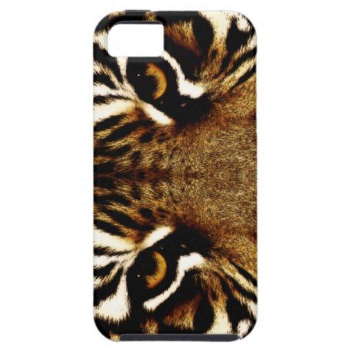Ojos de un tigre iPhone 5 funda