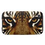Ojos de un tigre tough iPhone 3 carcasa