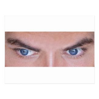 ojos del azul compañero tarjetas postales