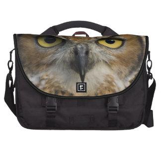 Ojos del búho bolsas para portatil