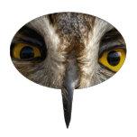Ojos del búho decoraciones para tartas