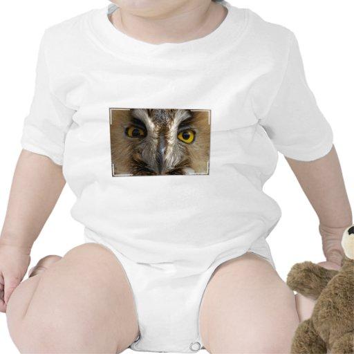 Ojos del búho trajes de bebé