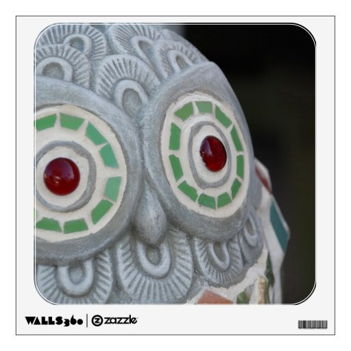 Ojos del búho vinilo adhesivo