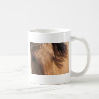 Ojos del caballo tazas de café
