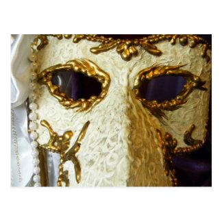 Ojos del carnaval postal