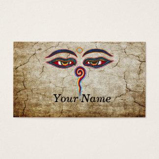 Ojos del der Weisheit de Buda/de Augen Tarjeta De Negocios