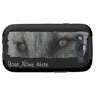 Ojos del Fox ártico de AFE Samsung Galaxy S3 Funda
