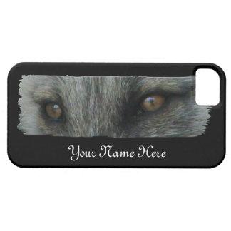 Ojos del Fox ártico de AFE iPhone 5 Cárcasas