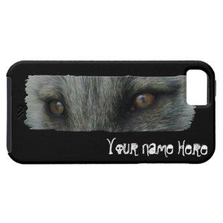 Ojos del Fox ártico de AFE Personalizable iPhone 5 Cárcasa