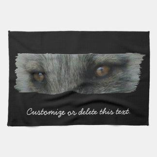 Ojos del Fox ártico de AFE Toalla De Mano
