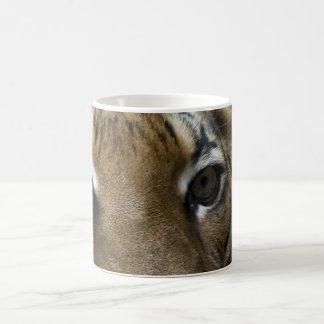 Ojos del gato taza clásica