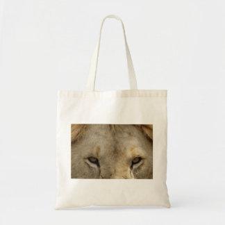 Ojos del león bolsa tela barata