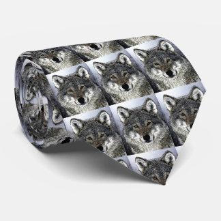 Ojos del lobo corbatas personalizadas