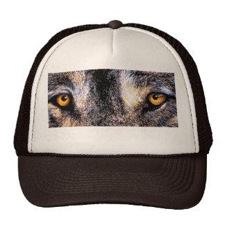 Ojos del lobo gorras