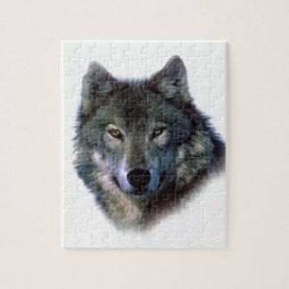 Ojos del lobo gris puzzles