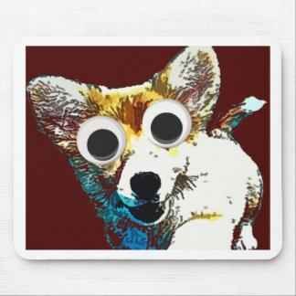 Ojos del perrito tapetes de ratón
