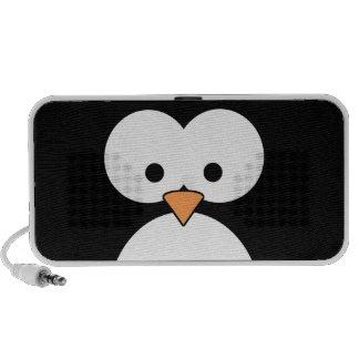 Ojos del pingüino portátil altavoz