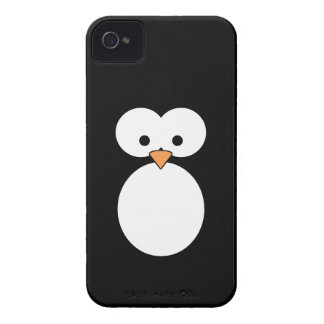 Ojos del pingüino Case-Mate iPhone 4 protectores
