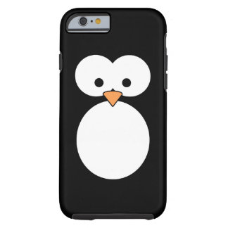 Ojos del pingüino funda para iPhone 6 tough