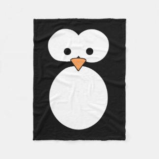 Ojos del pingüino manta de forro polar