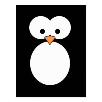 Ojos del pingüino tarjetas postales