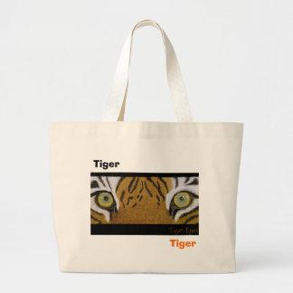 ojos del tigre bolsa tela grande