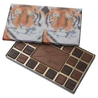 Ojos del tigre caja de bombones variados con 45 piezas
