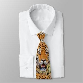 Ojos del tigre corbatas personalizadas