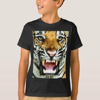 Ojos del tigre playera
