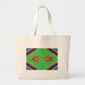 Ojos en disfraz bolsa lienzo