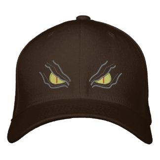 Ojos en la oscuridad gorra de béisbol