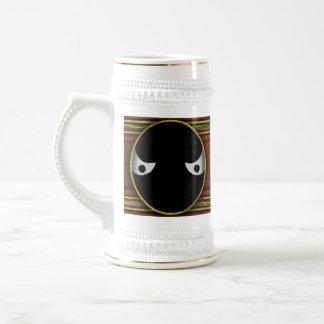 Ojos - en la oscuridad jarra de cerveza
