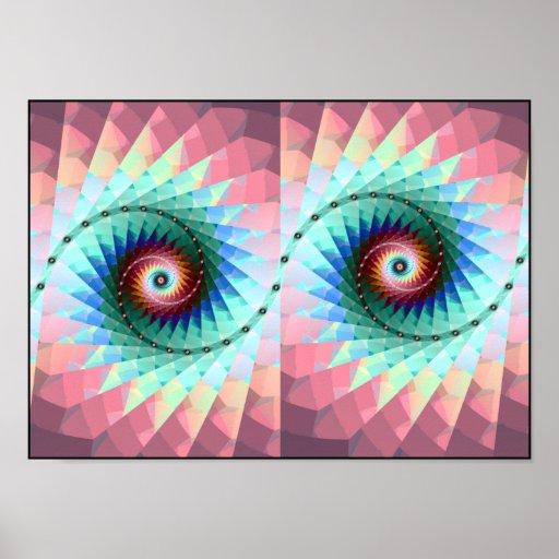 ojos en tándem impresiones