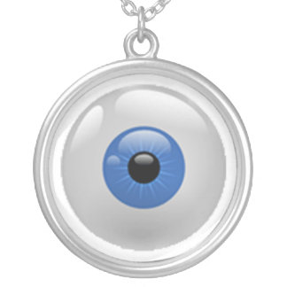 Ojos en usted colgante redondo