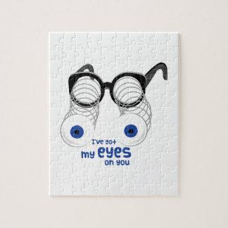 Ojos en usted rompecabezas