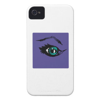 Ojos estrellados iPhone 4 Case-Mate protectores