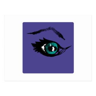 Ojos estrellados postales