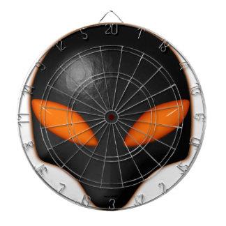 Ojos extranjeros del naranja de la cara del insect tablero de dardos