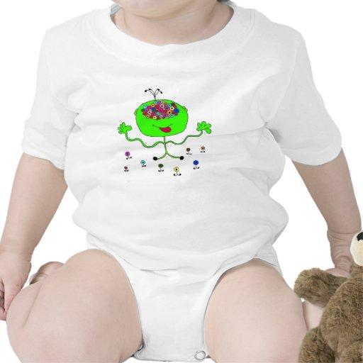 ojos extranjeros traje de bebé