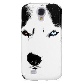Ojos fornidos del perro esquimal 3 I Funda Para Galaxy S4