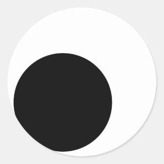 Ojos Googly (ninguna frontera) Pegatina Redonda
