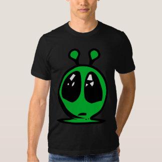 ojos grandes alian verdes playera