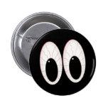 Ojos inyectados en sangre de Halloween de los glob Pin